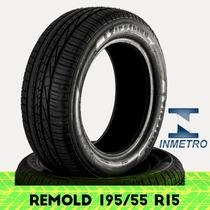 Pneu Remold Firstline 195/55 R15 Com Certificado Inmetro