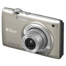Câmera Digital Nikon Coolpix S2500 12 Mp 4 X Champanhe