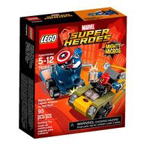 Lego Marvel Super Heroes Capitão América Vs Caveira Vermelha