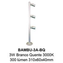 Luminaria Led Bambu 3w - 3000k