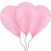 Balões São Roque N° 7 Rosa Tutti Frutti Com 50 Bexigas