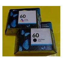 Kit Hp 60 Novo Original Na Caixa
