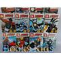 Kit 8 Bonecos Vingadores Heróis - Padrão Lego