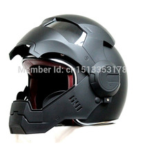 Masei 610 Atomic-man Motocicleta Capacete Matt Black Sml Xl