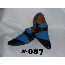 Sapato Social Artesanal Em Couro M:85a,86,87,87a,88,89