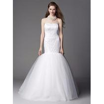 Vestido De Noiva Sereia Renda E Tule Tomara Que Caia Atelier