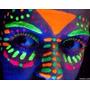 Tinta Líquida Fluorescente 6 Cores Cítricas - Festa Neon