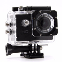 Câmera Filmadora Sports Action Cam Hd Carro Moto Prova Dágua