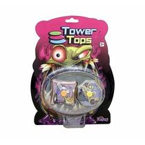 Pião Brinquedo Tower Tops Original Da Long Jump