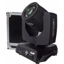 Moving Beam 230 7r Osram Touch Screem 20 Canais Dmx + Case