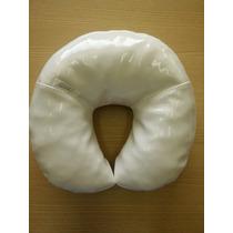 Apoio De Cabeça Branca P/ Maca Massagem Estética Ferradura