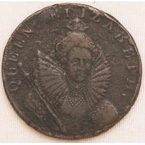 Linda. Moeda Da Inglaterra. Ano 1794. Half Penny. Mbc.