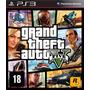 Jogo Grand Theft Auto Gta Ps3 Português Frete Grátis