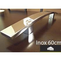 Puxadores Inox 304 Duplos, Curvo Para Portas. Linha Prime