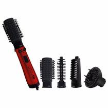 Escova Rotativa Philco Spin Íon Brush Preta-vermelha - 220v