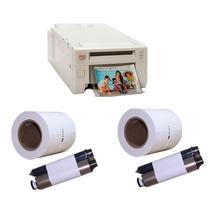 Kit Impressora Kodak 305 Fotográfica Térmica +2 Rolos Ribbon