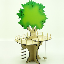 Brinquedo Madeira - Casa Na Àrvore Mod.04