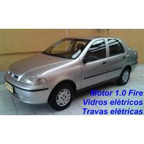 Fiat Siena Ex 1.0 Fire, Vidros Elétricos, Travas Elétricas,