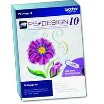 Brother Pe Design 10 Programa De Bordados + Envio Imediato