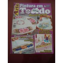 Revista Criando Arte Pintura Em Tecido Porcelanizada N°58