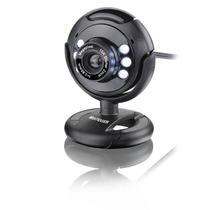 Webcam Com Visão Noturna 16mp Microfone Usb Plug E Play