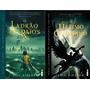Kit: Livros O Ultimo Olimpiano E O Ladrão De Raios