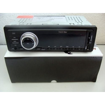Rádio Mp3 Som Player Automotivo Usb Sd Led Display