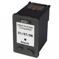 Cartucho Compativel Hp (j3680) 22ml Preto 21/27/56 Chinamate