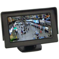 Tela Monitor Automotivo Lcd Tft 4.3 / Carro Camera De Ré Dvd