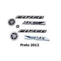 Adesivo Faixa Jogo Yamaha Fazer 250 2012 Preta