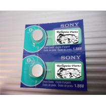 Par De Baterias P/ Casio G-shock Ga-1000 Sony Made In Japan