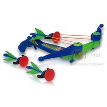 Arqueiro, Arco E Flecha De Brinquedo, Zip Cross - Dtc