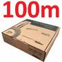 Cabo Coaxial Cftv 4mm Flexível 100m 80% Malha Multitoc