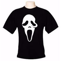 Camiseta Panico 100% Algo Camisa De Caveira