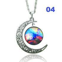 Colar Místico Prata - Lua 4
