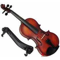 Violino Completo Intermediário 4/4 Augustini Prime Espaleira