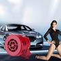 Buzina Sirene Rotativa 12volts Automotiva E Residencial