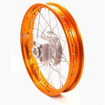 Par Aro Roda Para Moto Com Raio Completo Cg 150