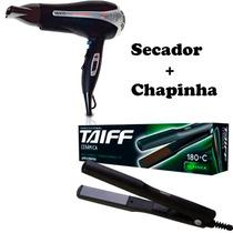 Super Kit Chapinha Profissional Taiff + Secador Gama Italy