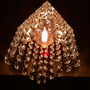Lustre Pendente Cristal De Acrilico 12x12 Cm