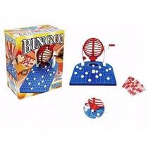 Jogo Globo De Bingo Completo 48 Cartelas - Brinquedos Lugo