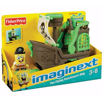 Navio Do Pirata Bob Esponja Fisher Price Imaginext
