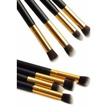 Kit 4 Pinceis De Maquiagem Profissional - Estoque Brasil