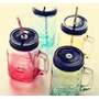 Copo/jarra/pote Vidro - Mason Jar 500ml Ice Cold. Novo!