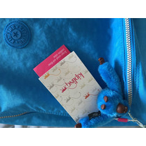 Mala Mochila Rodinhas Kipling Nova Viagem Escola Azul