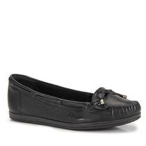 Sapato Mocassim Conforto Feminino Ramarim - Preto