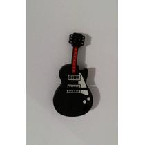 Pen Drive 8 Gb Persolizado Guitarra Emborrachado