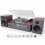Toca-discos Aria Raveo Sistema Hi-fi Cd Player Usb Bluetooth