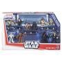 Playskool 10 Figuras Star Wars Jedi Vs Sith Vader Rey Yoda+7