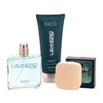 Kit Deo Côlonia, Shampoo E Sabonete Leandro Racco